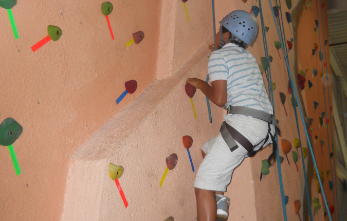 Rock Climbing at Earth Treks
